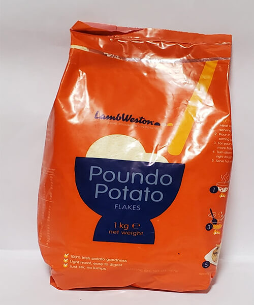 Poundo Potato