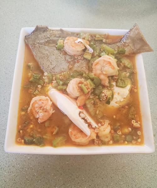 Sea Food Okra